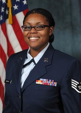 U.S. Air Force Staff Sergeant Takeya Williams.