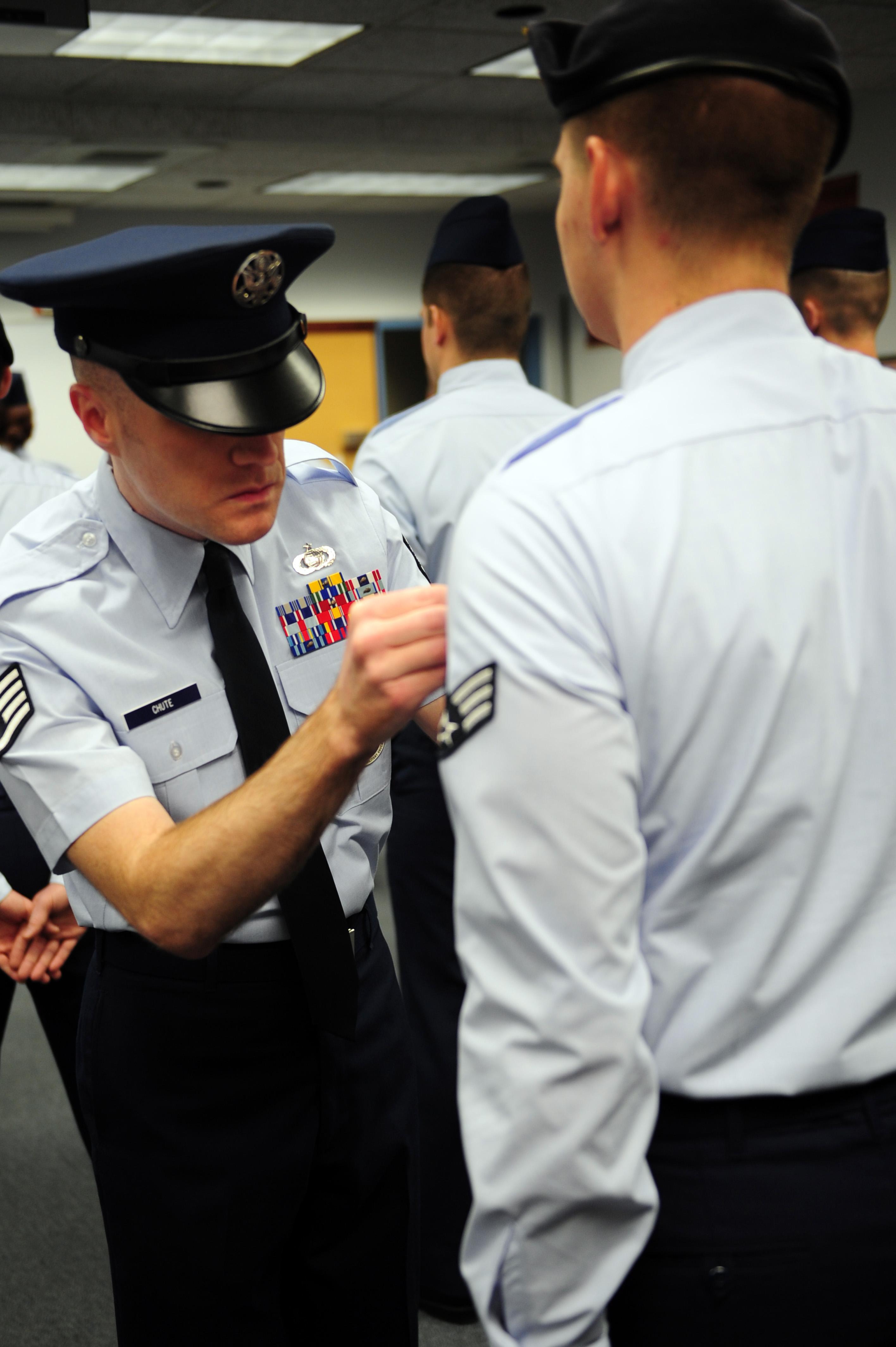 airman leadership school takes airmen to the next level