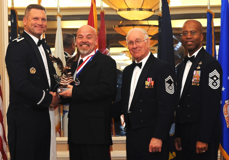 BUCKLEY AIR FORCE BASE, Colo. --460th Space Wing Annual Awards Ceremony February 11, 2011. (U.S. Air Force Photo by Airman Manisha Vasquez)