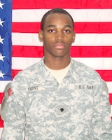 Sgt. Lashawn D. Evans, died Feb. 15, 2011, 1st Attack Reconnaissance Battalion, 1st Aviation Regiment, Combat Aviation Brigade, 1st Infantry Division