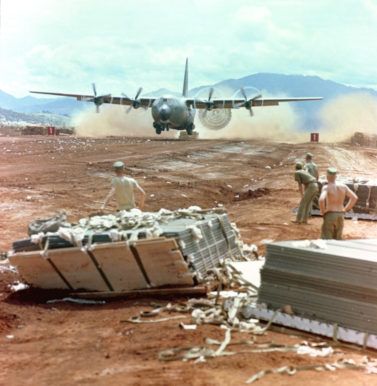 Southeast Asia War. (U.S. Air Force photo)