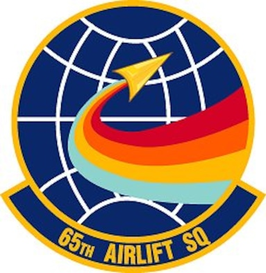 65th Airlift Squadron patch