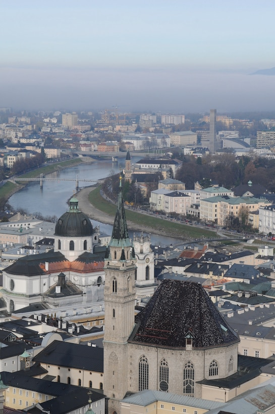 The city of Salzburg, Austria is rich in tradition and culture. (U.S. Air Force photo/Senior Airman Kathryn Self)