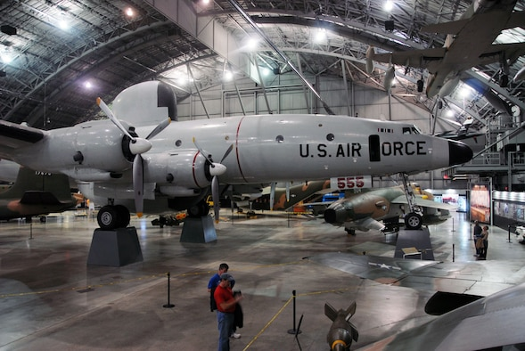 DAYTON, Ohio (01/2011) -- EC-121D after restoration crews placed it on pylons in the Southeast Asia War Gallery at the National Museum of the U.S. Air Force. (U.S. Air Force photo)
