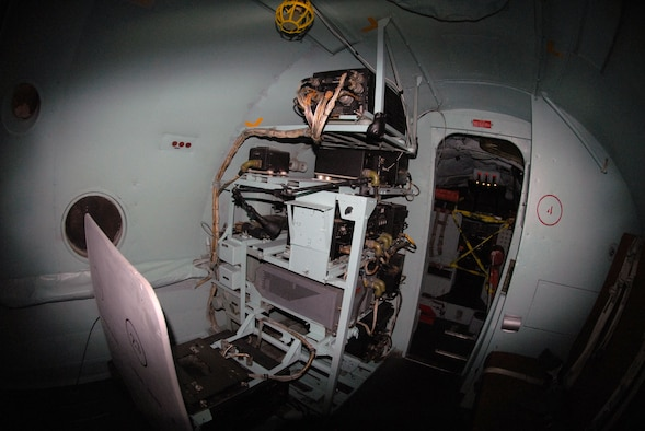DAYTON, Ohio -- Lockheed EC-121D interior at the National Museum of the United States Air Force. (U.S. Air Force photo)