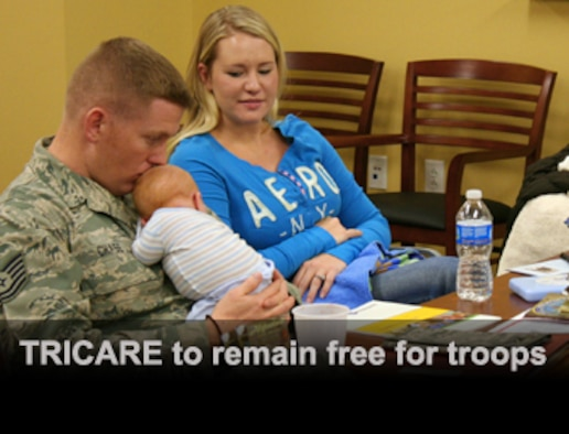 TRICARE to remain free for troops