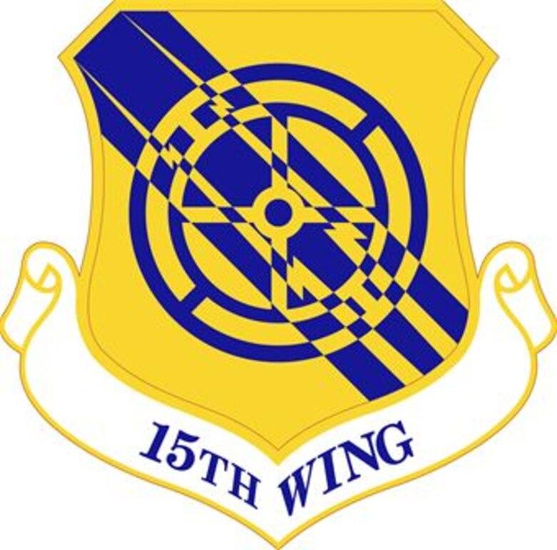 15th Wing logo