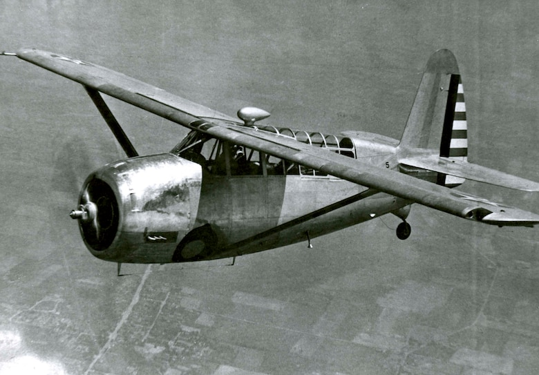 O-52 observation/patrol aircraft. Operated by the 126th observation squadron from 1940-1947.