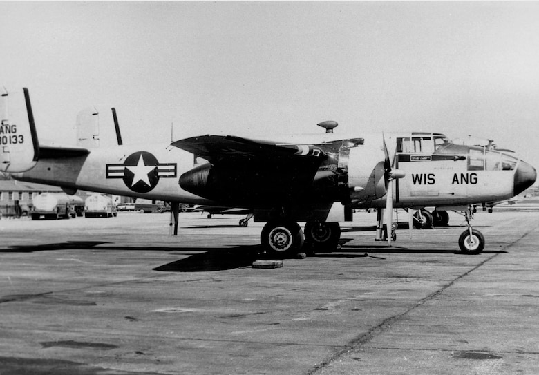 B-25 Mitchell medium bomber. This was operated by the 126th from 1955-1959.