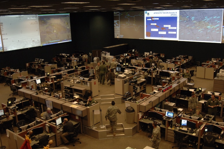 The 612th Air and Space Operations Center