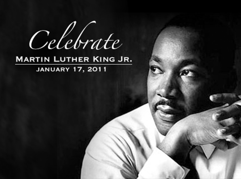 Martin Luther King Jr Birthday.Air Force Leaders Commemorate Martin Luther King Jr