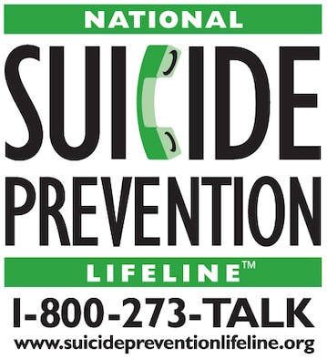 National Suicide Prevention Hotline.