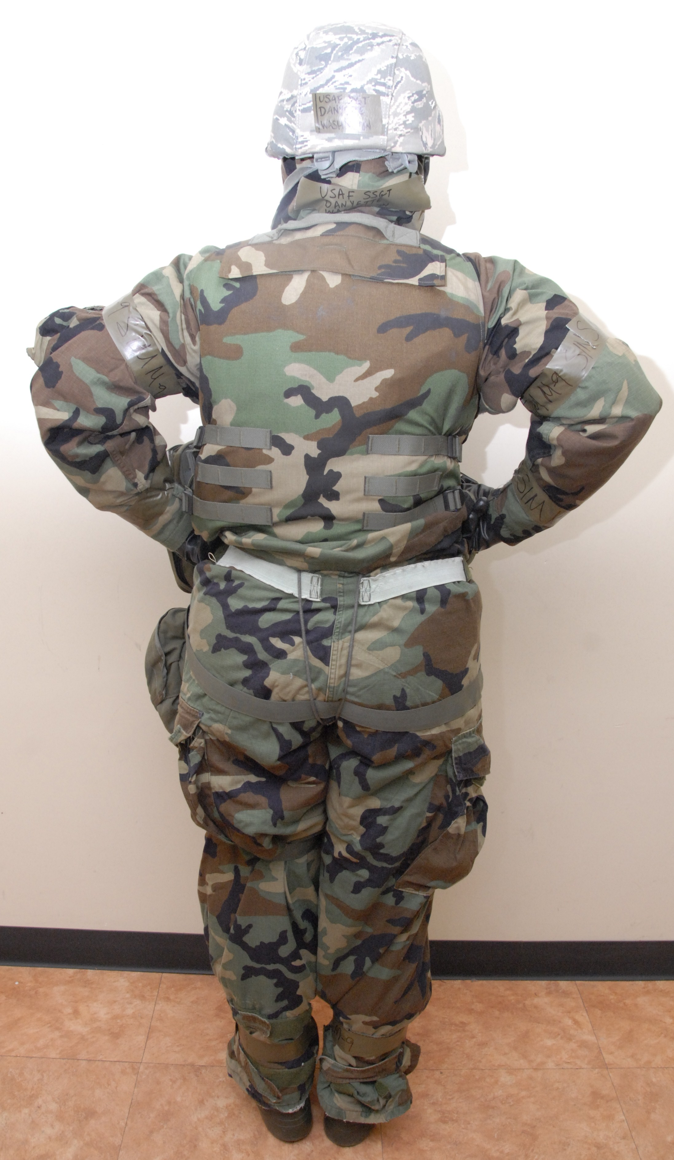 Correct wear of MOPP gear is critical to safety, survival > Kunsan