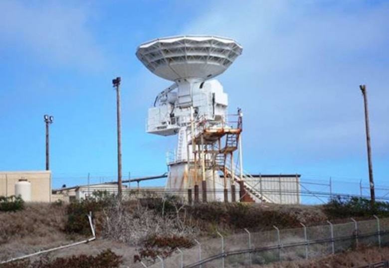 The TPQ-18 Radar at Vandenberg AFB is part of the Launch and Test Range System managed by SMC.