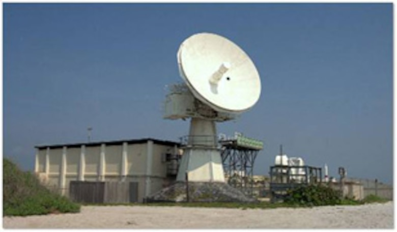 The 0.134 Radar at Patrick AFB is part of the Launch and Test Range System managed by SMC.