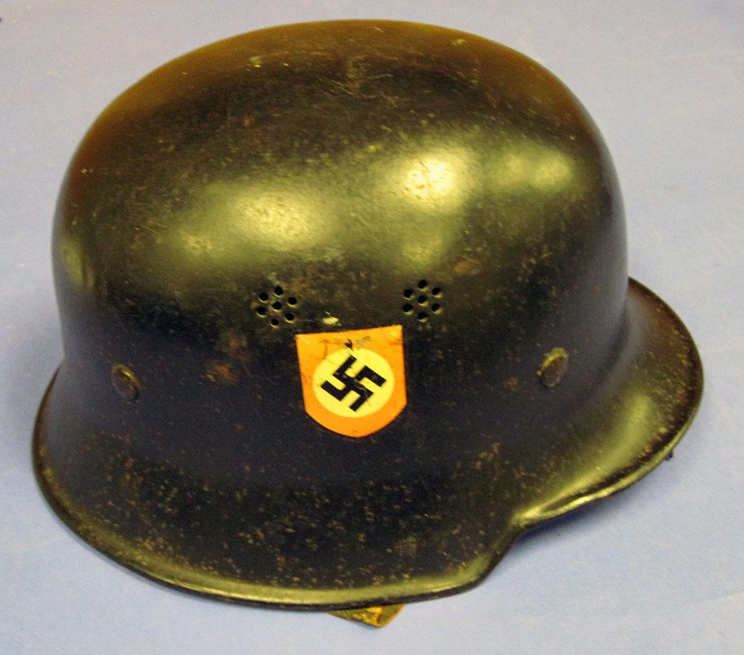 Civic model german police helmet national museum of the us air JPG 1080x950 German  police hat 2bb97d902a98