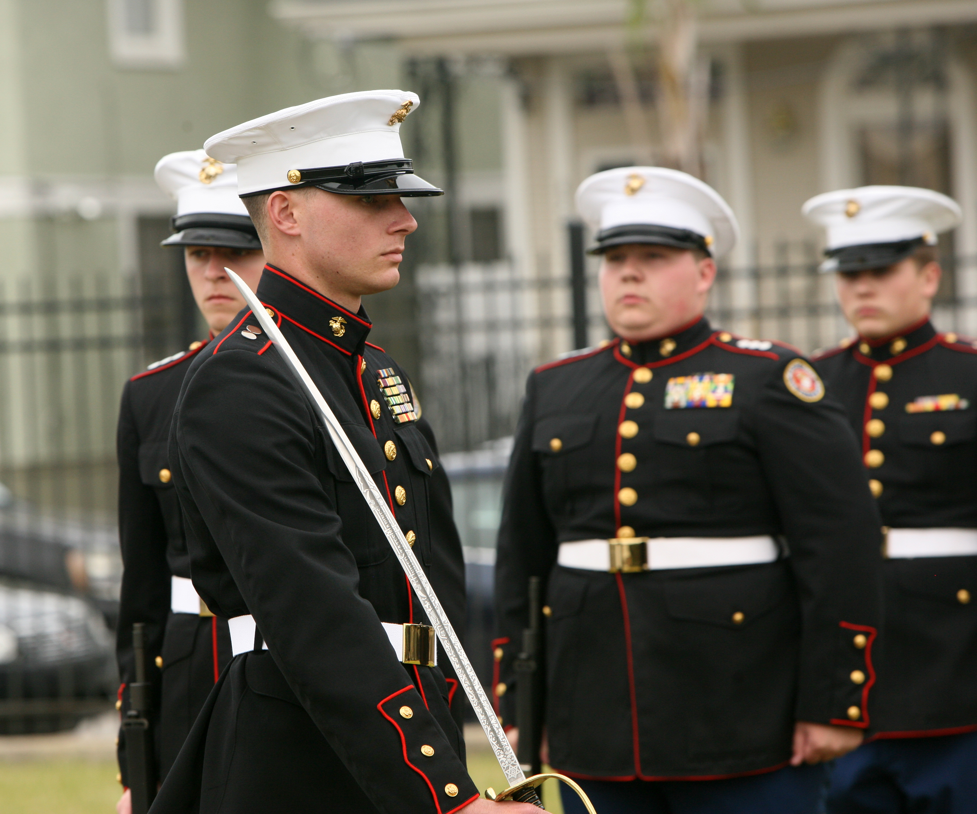Marines judge JROTC competition > Marine Corps Forces ...