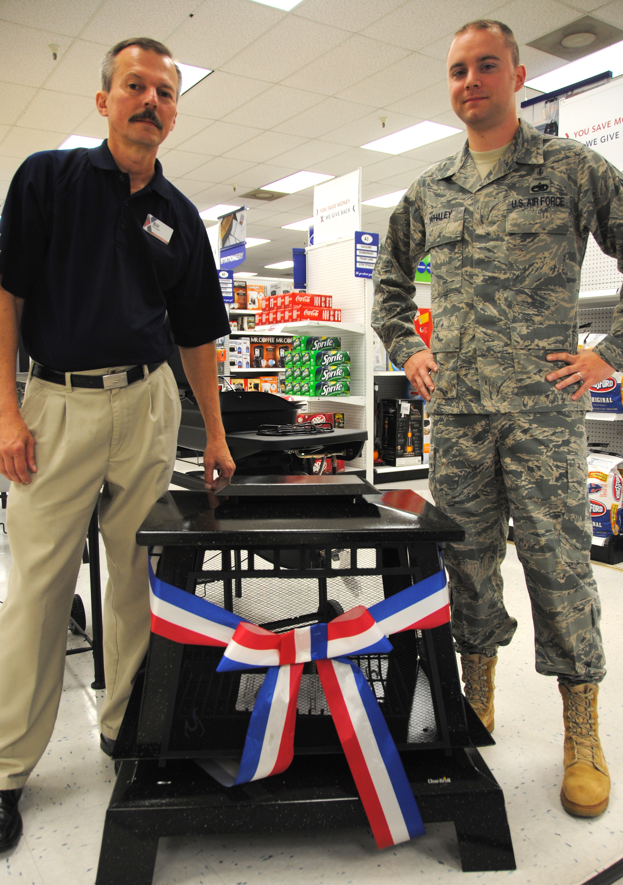 Whaley Wins Outdoor Fireplace In Bx Contest U003e Vance Air Force Base