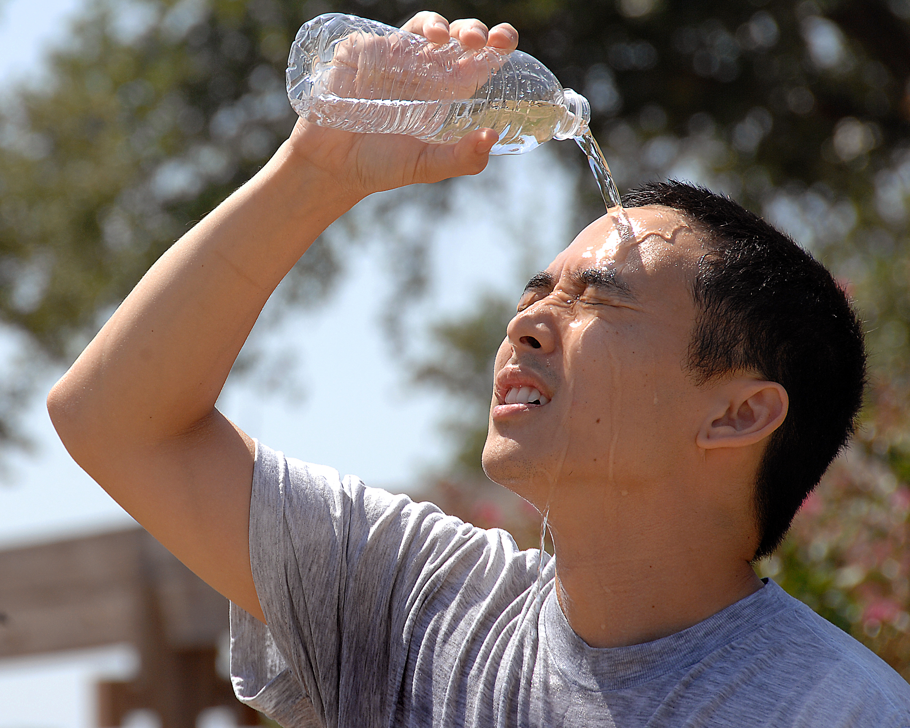 Image result for patient drinking water