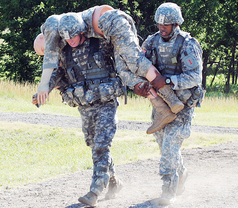 Teams Individual Participate In Warrior Competition Fort Riley