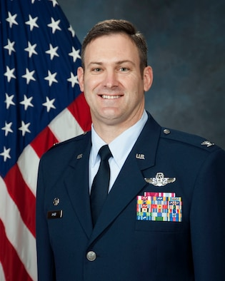 Col. Andrew Toth, the 33rd Fighter Wing commander.  (Official photo)