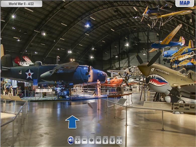 Image result for virtual tours at the National Museum of the United States Air Force