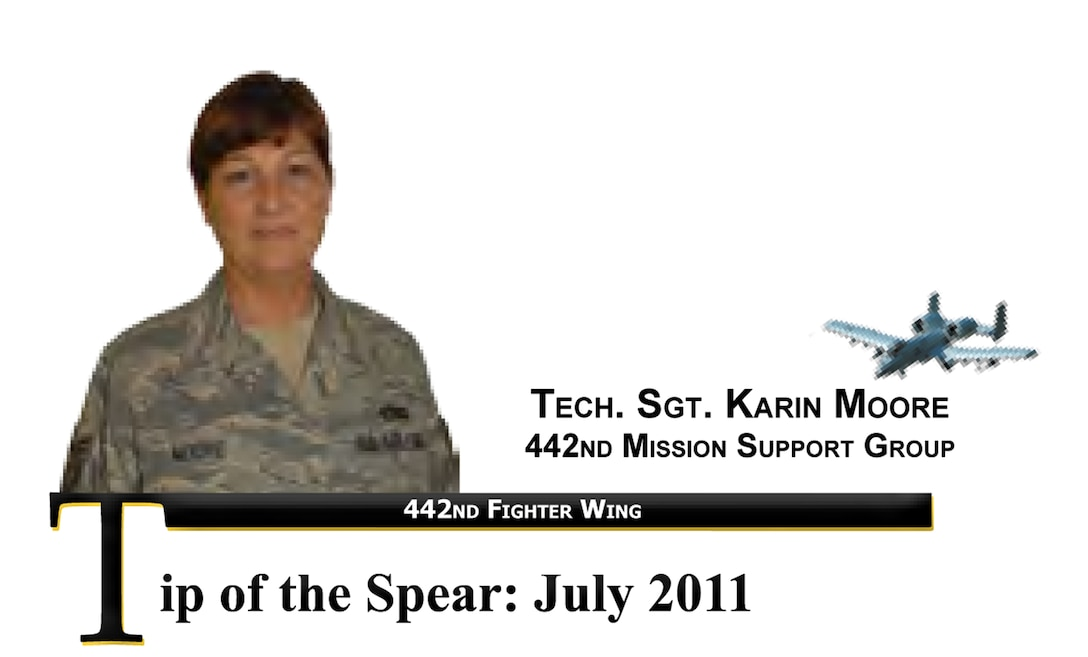 Tech. Sgt. Karin Moore, 442nd Mission Support Group