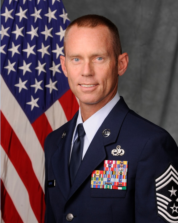 Chief Master Sgt. John G. Weimer, 366th Fighter Wing Command Chief
