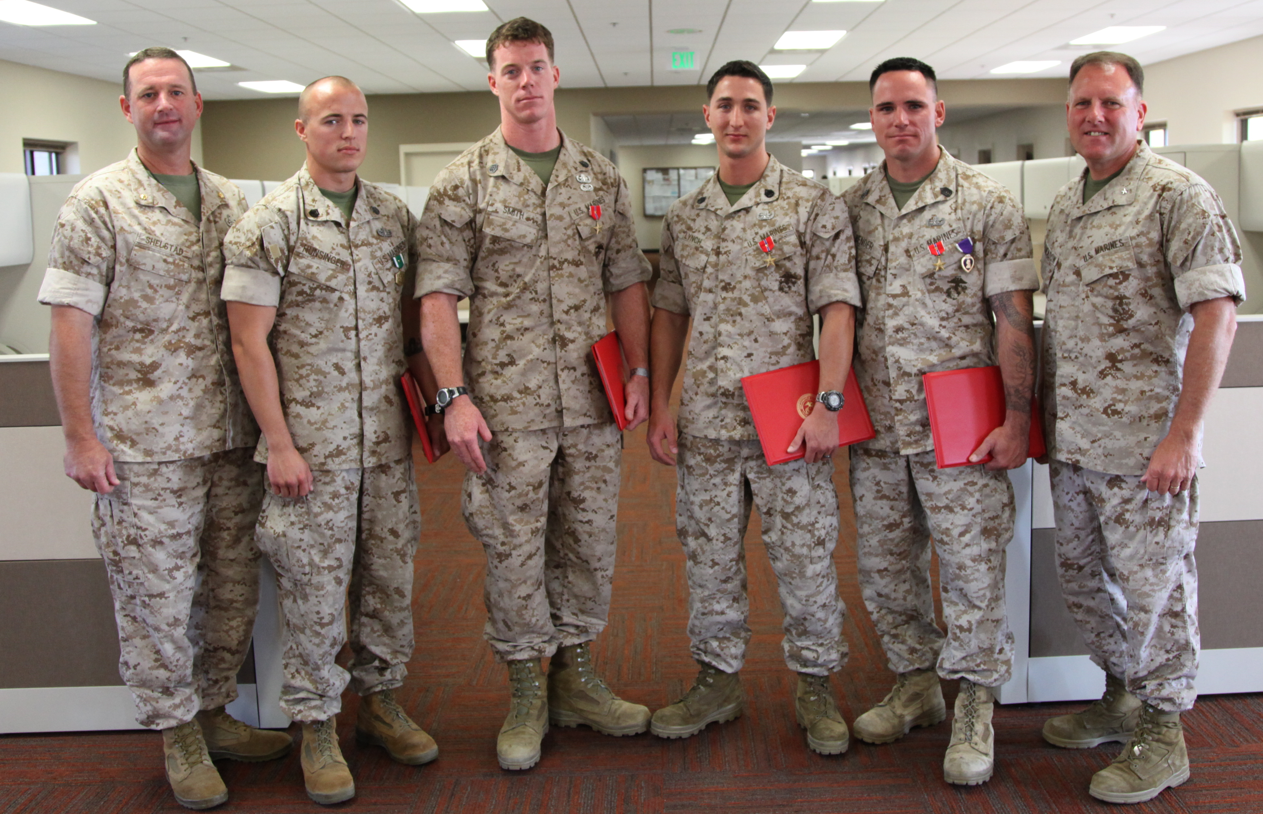 EOD Marines awarded for bravery under fire > 1st Marine ...