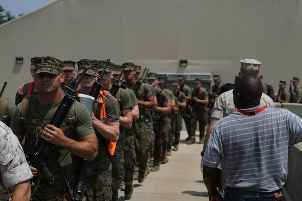 Key influencers see where it all begins for marine officers marine corps recruiting command - Officer training school marines ...