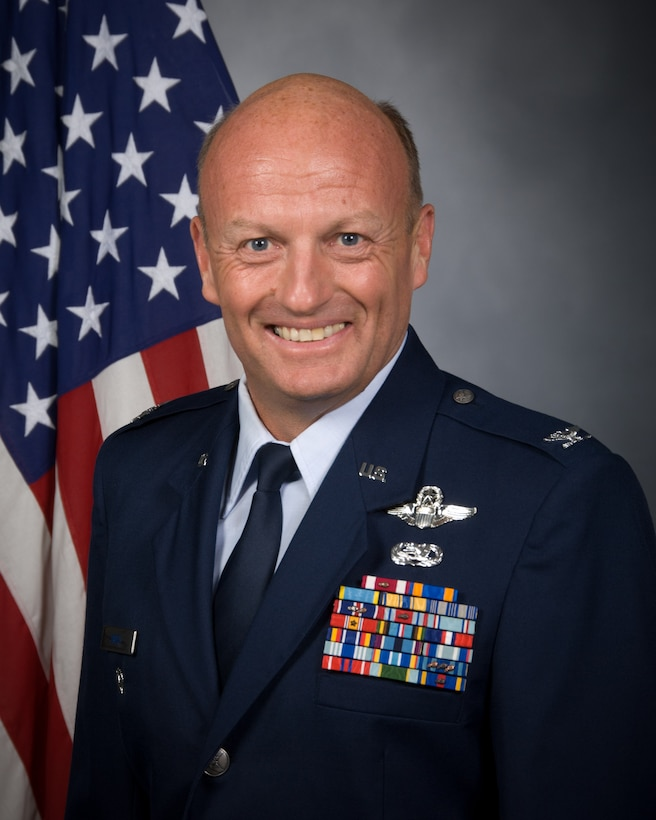 Col. Bruce M. Smith, 366th Fighter Wing Vice Commander