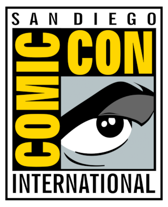 Official logo of Comic-Con 2011.