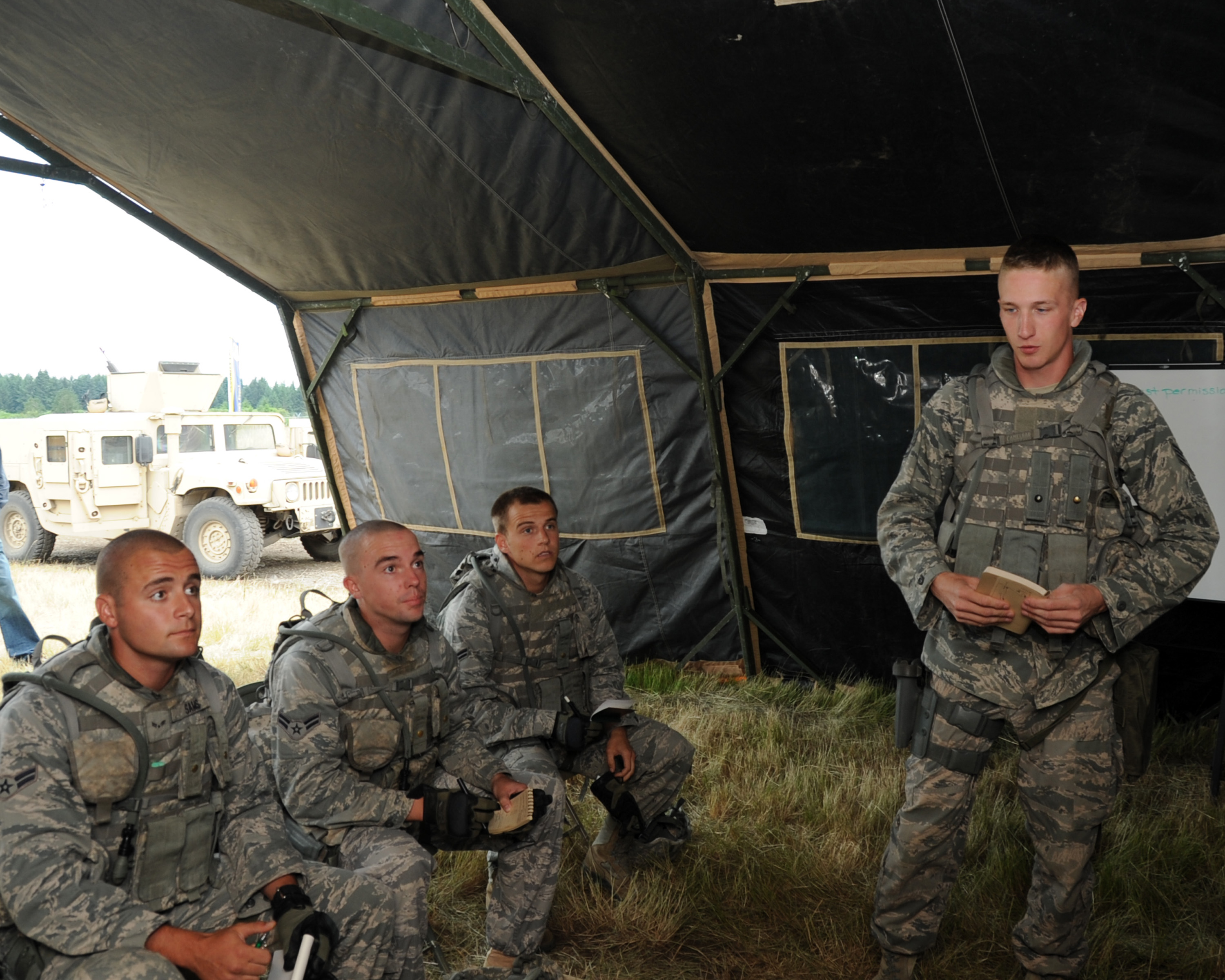 97 Sfs Airmen Prepare For 2011 Amc Rodeo Combat Tactics Course