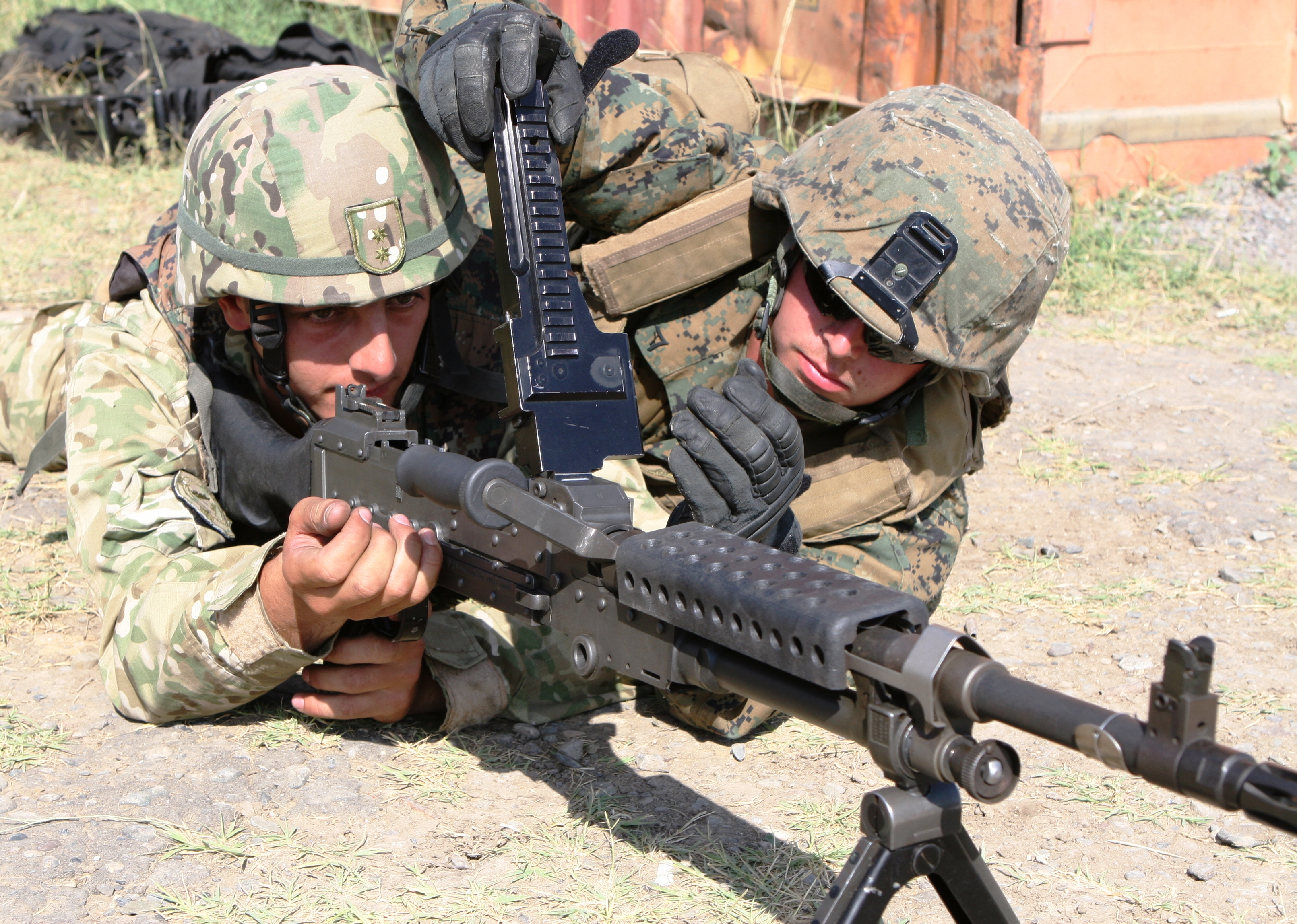 Machine guns, Mustaches and Motivation > Marine Corps Forces ...