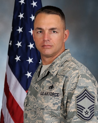 Chief Master Sgt. Derek Conrad, 917th Fighter Group Chief of Quality Assurance