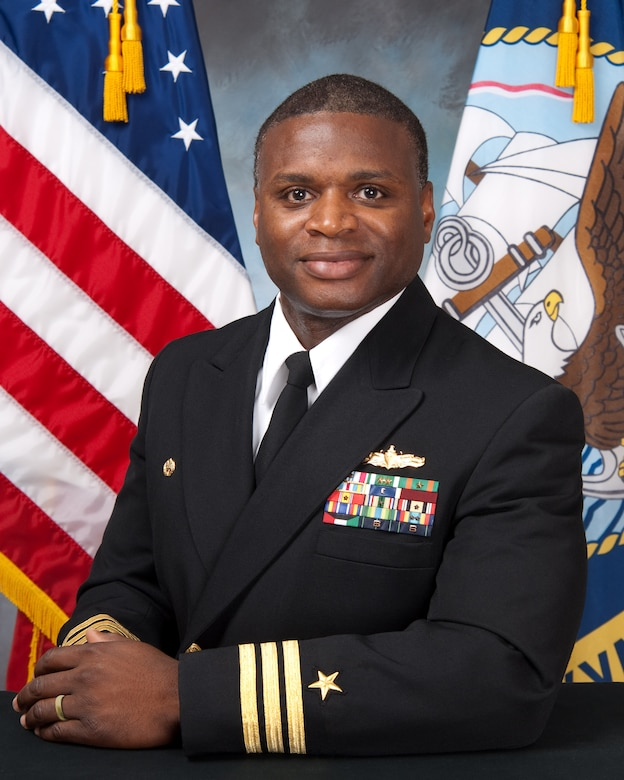 Capt. Mark Glover Space and Naval Warfare Systems Center Atlantic commanding officer