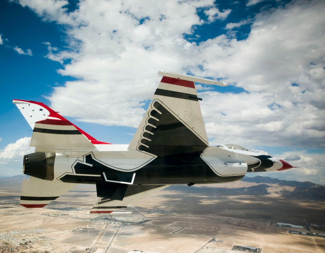 Five pilots have been selected to join the U.S. Air Force Air Demonstration Squadron, the Thunderbirds, for the 2012 demonstration season. (U.S. Air Force photo/Staff Sgt. Larry E. Reid Jr.)