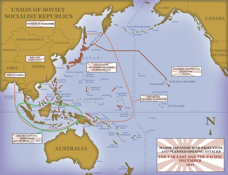 Pacific Theatre of Operations, World War II.