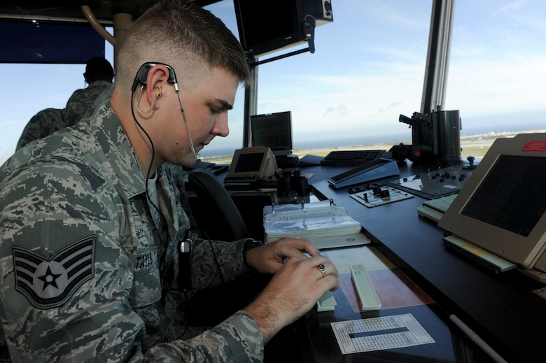 Air traffic controllers see bigger picture > Kadena Air ...