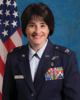 Colonel Karen Weis achieved one of nursing's highest honors by being inducted as a Fellow into the American Academy of Nursing.  (Air Force image)