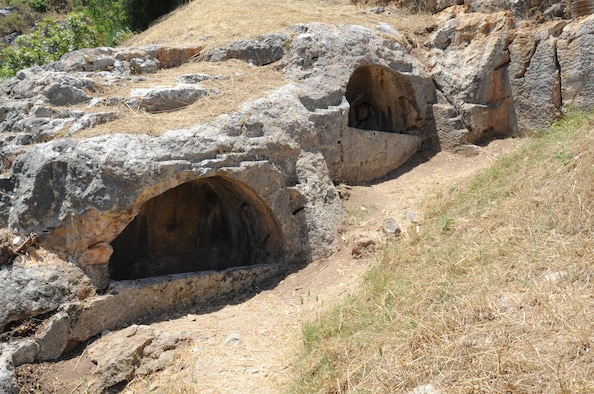 The Cave of Seven Sleepers is located in Ephesus, Selcuk, Turkey. Legend has it that prior to the adoption of Christianity as the official religion; seven children took shelter in this place. The children fell asleep and woke up two centuries later to find that Christianity had become the official religion of the Roman Empire.  (U.S. Air Force photo by Tech. Sgt. Valda Wilson/Released)