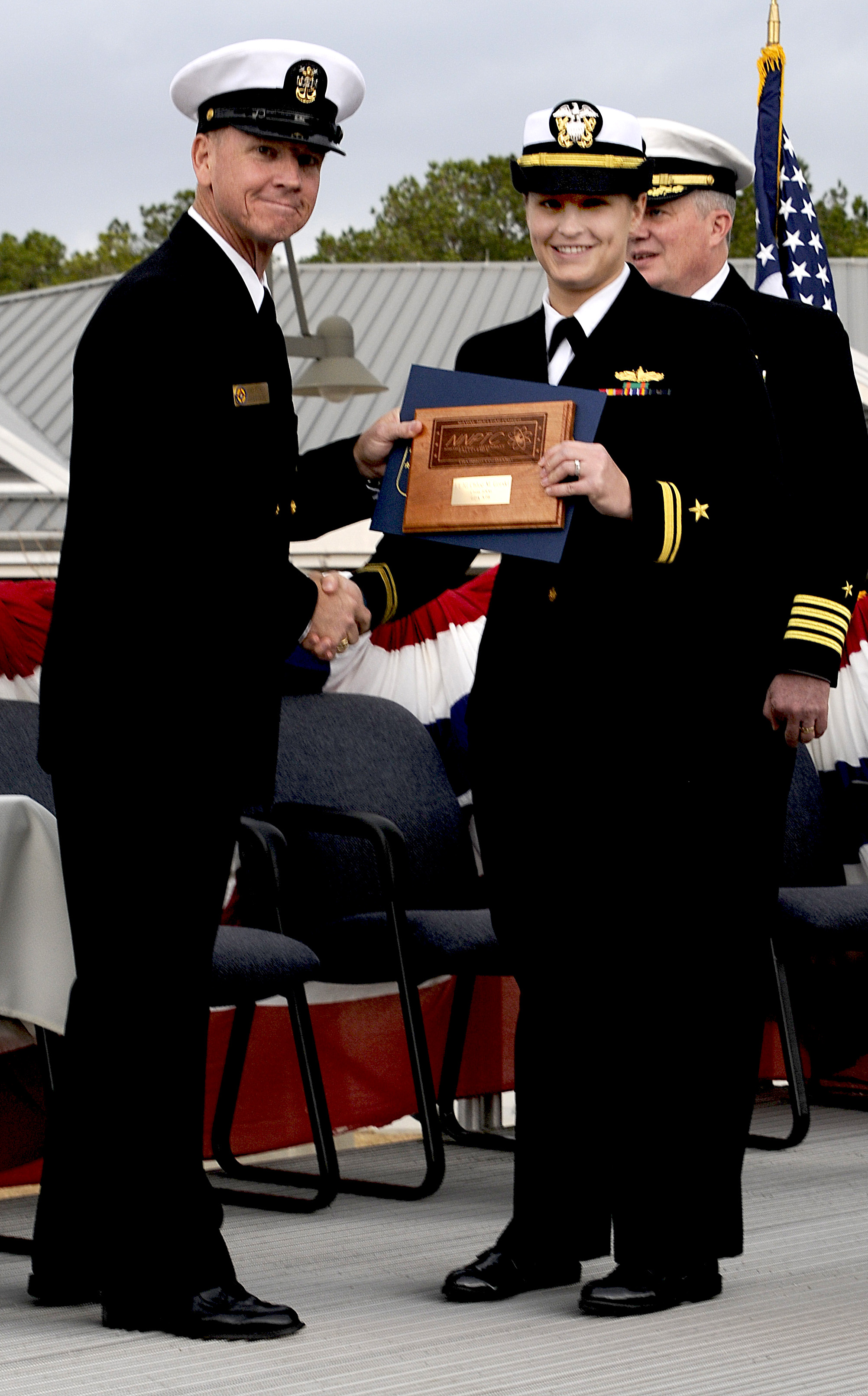 Naval Nuclear Power Training Command Graduates Class 1006 Joint Electricity Basic Navy Courses