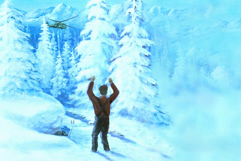 MIRACLE ON THE MOUNTAIN - Sixteen years ago, an Air Force officer and his 10-year-old son vanished in a blizzard on the mountains of Turkey. Discover how they survived nine days of freezing temperatures in the rugged wilderness with no food or fire. (Illustration by Steve Doyle)