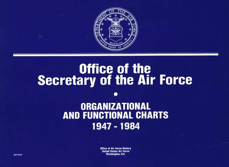 Organizational and Functional Charts, 1947-1984