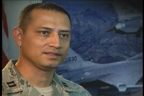 Capt. Humberto Nieto, an intelegence officer at the 162nd Fighter Wing, was featured at the Air Education and Training Command Symposium last month for an act of heroism, Watch his video here.
