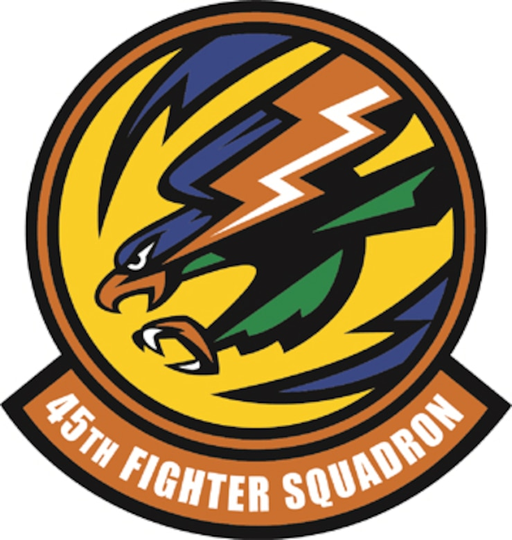The 45th Fighter Squadron is part of the 917th Fighter Group at Barksdale Air Force Base, La. The 917th FG is a geographically separated unit of the 442nd Fighter Wing, an A-10 Thunderbolt II Air Force Reserve unit at Whiteman Air Force Base, Mo. (U.S. Air Force illustration)
