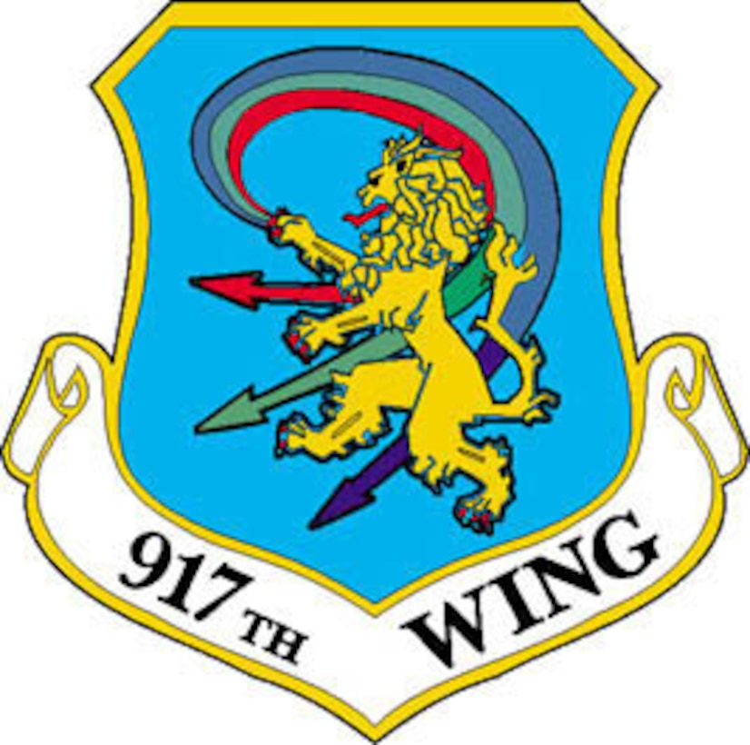 917th Wing patch