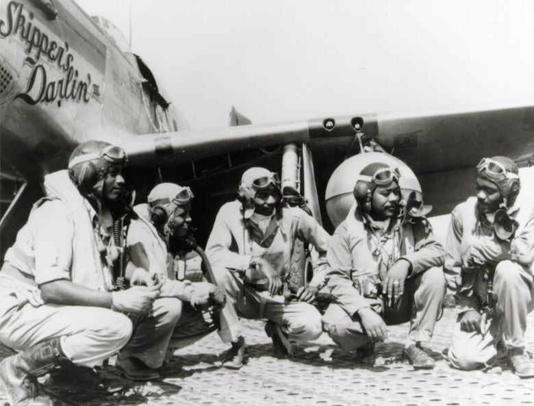Tuskegee Airmen in WWII