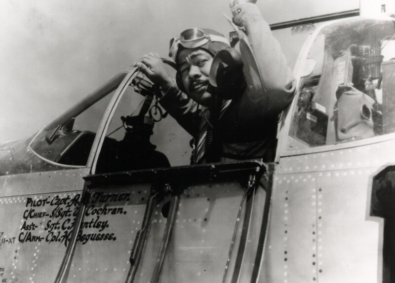 Tuskegee Airman in P-51