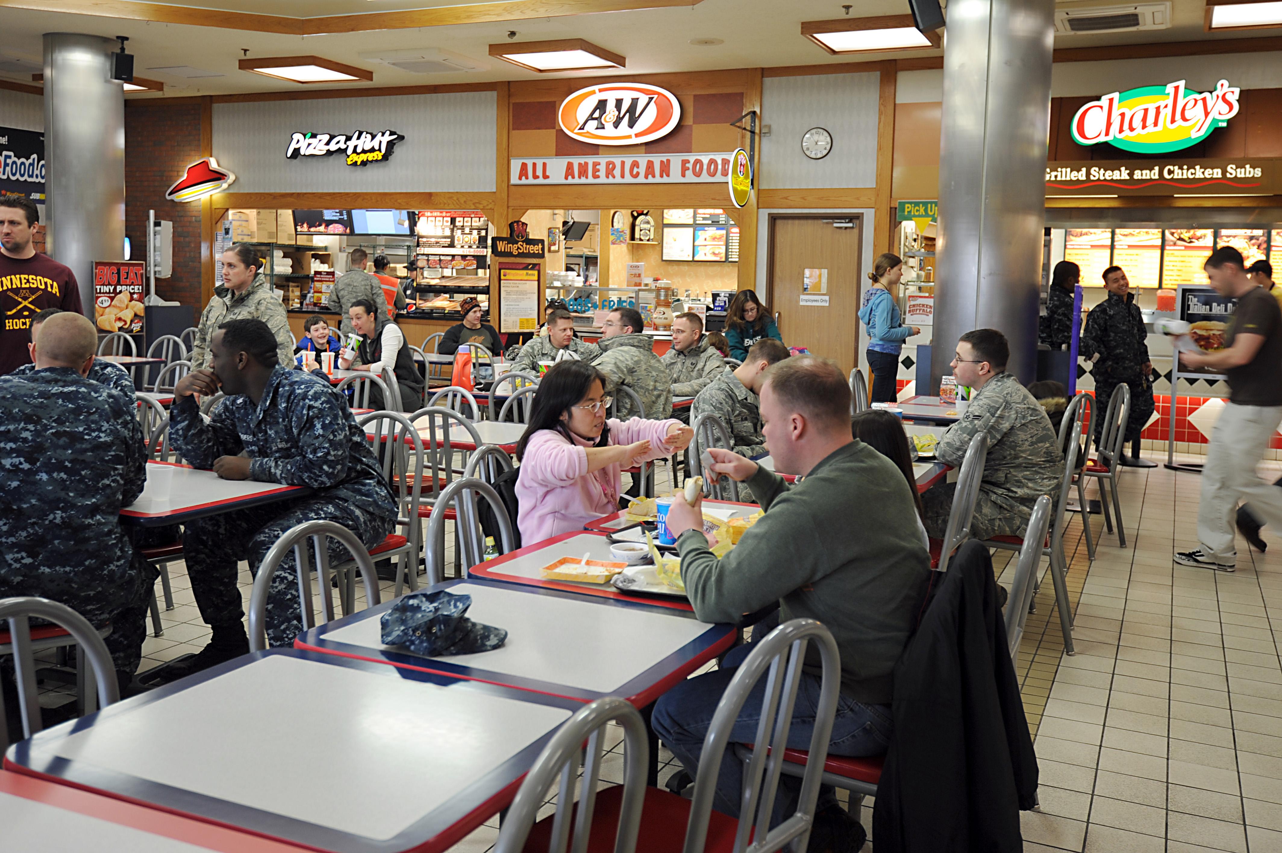 Camp Humphreys Food Court Online